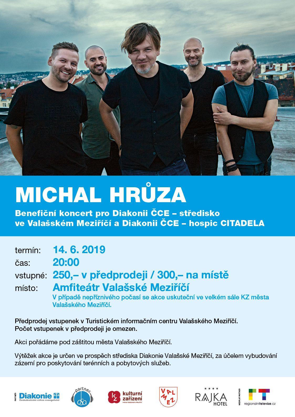 Koncert Michala Hrůzy pro Diakonii